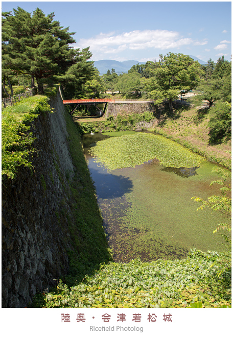 会津若松城 鶴ヶ城 aizu-wakamatsu