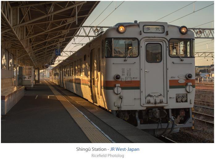 新宮駅 キハ48